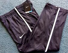 NWT Nike Boys Youth L Black/White Dri-Fit Athletic Pants Large