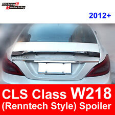 For Mercedes - Benz CLS Class W218 CLS63 R Style Carbon Fiber Rear Trunk Spoiler