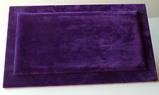 Serving/Counter Mat (34.5cm x 20cm) in Purple Suedette