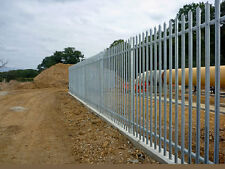 FREE Delivery Galvanised Steel Security Fencing 2.4m high
