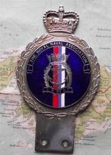 c1950 Vintage Car  Mascot Badge : Royal Naval Association may be by Gaunt