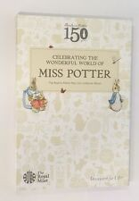 The 2016 Beatrix Potter 50p Coin Hunt Collector Album Folder + Peter Rabbit coin