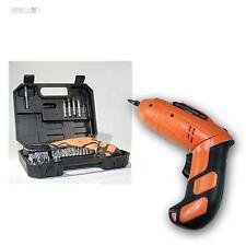 """Mini destornillador a batería """"X-Power"""" 3,6 V de ión litio, 48 piezas varilla"""