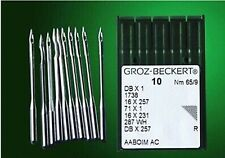 10pcs New GROZ-BECKERT 90/14 DB1 DBX1 1738 Industrial Sewing Machine Needle