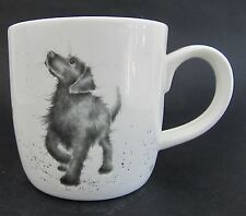 "Royal Worcester Dog Mug ""Walkies""  Fine Bone China Wrendale Boxed"