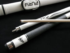 Champion Spider White Snake Skin Billiards Maple Cue + White Fury case + Glove!