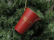 Vintage Style Dragon Fly Cup Christmas Ornament, Dragonfly
