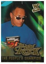 """2001 Fleer WWF WrestleMania Trading Card : The Rock """"The Author"""" (#6)"""