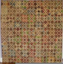 Antique Odd Fellows Quilt mid 1800 s
