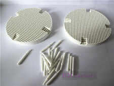 2PCS Dental Lab Honeycomb Firing Trays w/ 20 Zirconia Pins New