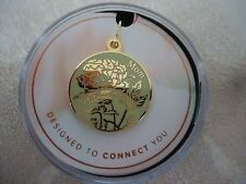 Alex and Ani MOM COLOR INFUSION CHARM Shiny Gold Finish New