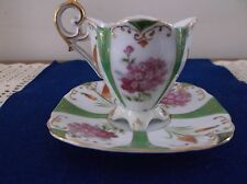 "UCAGCO CHINA ""MADE IN OCCUPIED JAPAN"" Footed Demitasse Cup & Saucer"