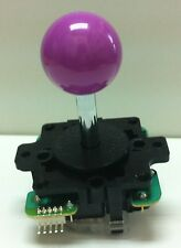 Japan Sanwa Joystick Violet Ball Top Arcade Parts JLF-TP-8Y-VI