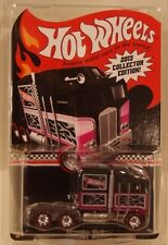 Hot Wheels Kmart 2013 Thunder Roller Real Riders #3/4 PINK Semi