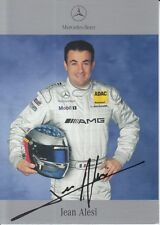 Jean Alesi Signed Mercedes-Benz DTM Promo Card 1.