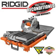 Ridgid R4040 8 in. Tile Saw without Stand ZRR4040 Reconditioned