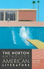 The Norton Anthology of American Literature Volume E by Nina Baym