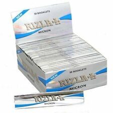 Rizla Micron King Size Slim Micron Thin Smoking Rolling Papers  50 Booklets