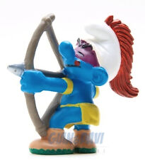 20551 Indiani Bow Arrow Arcere 1A PUFFO PUFFI SMURF SMURFS SCHTROUMPF