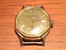 Vintage LUCERNE - A Cuerda - Swiss - Case & Watch Movement Dial 27 mm - Used