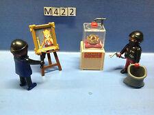 (M422) playmobil les voleurs du musée ref 4265 4263 4266
