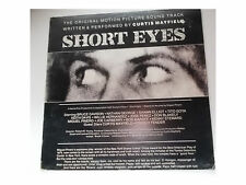 Curtis Mayfield – Short Eyes  - LP - UK 1st Press