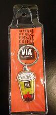 Starbucks Coffee Indonesia VIA Italian Roast Keychain Charm