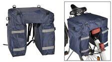 Fahrrad Gepäcktasche Satteltasche Gepäckträger Tasche Fahrradtasche Rucksack Neu
