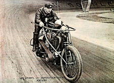 "Anzani 1904 Motorcycle11 x 14""  Photo Print"