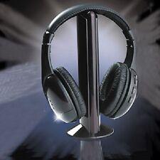 Nuevo 5 en 1 Auriculares inalámbricos Negro Alta Calidad Fast Free UK Post