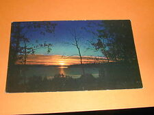Sunset On Clear Lake, Riding Mountain National Park, Manitoba Postcard Canada