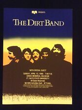 THE DIRT BAND CONCERT POSTER 1980- MINT CONDITION