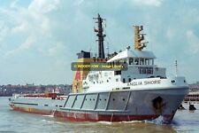 ap1190 - Oil Rig Service - Anglia Shore , built 1976 - photo 6x4