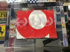 RED BULL RACING PIECE OF THE BODYWORK ENGINE COVER FROM 2013 IN PERSPEX