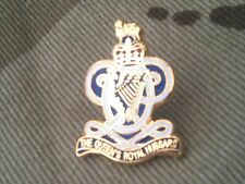 Queen Royal Hussars Lapel QRL Military Badge
