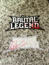 BRUTAL LEGEND Promo Patch SDCC Comic Con 2009 Promo Mint new