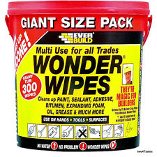 300 Industrial Hand Wipes Paper Silicone Car Window Door Cleaner Towel Degrease