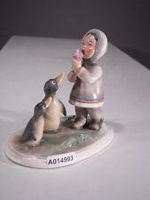 +# A014993 Goebel Archiv Muster Cortendorf Eskimo isst Eis mit 2 Pinguinen 1569