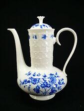 K & A Krautheim Rialto Kobaltblaue Blumen Kaffeekanne 1,6l
