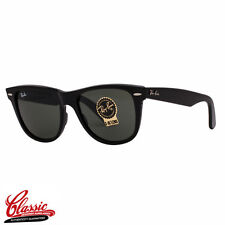 RAY-BAN ORIGINAL WAYFARER SUNGLASSES RB2140 901 Black Frame 54mm
