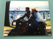 Tom Cruise & Kelly McGillis TOP GUN autographed signed photo UACC RD