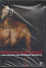 Dvd **WRESTLEMANIAC** con Rey Mysterio nuovo sigillato 2008