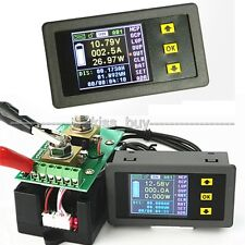DC Battery 120V 100A Voltmeter ammeter Watt Power capacity Digital Combo Meter