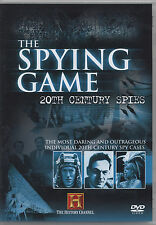 HISTORY CHANNEL - SPYING GAME - 20TH CENTURY SPIES (VERY GOOD CONDITION DVD)