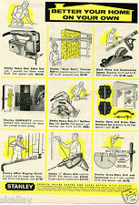 1959 Print Ad of Stanley Tools & Hardware better your home on your own