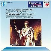 BEETHOVEN Emperor Concerto (FLEISHER) Triple Concerto (ISTOMIN, STERN, ROSE)-CD