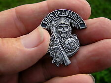 BIKER VEST PIN Badge *HIGH QUALITY* Motorcycle suit Harley Davidson Son's Lapel