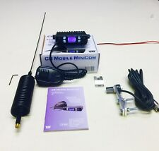 Team CB Radio Mobile Mini Com Starter Kit+Mini Stinger Antenna Flat Bar Kit