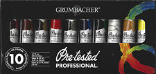 NEW Oil Paint Set GRUMBACHER PRE-TESTED 10 Colors x 24 ml Professional P1030G
