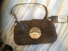 Lovely Little Olive Green Leather Bag New